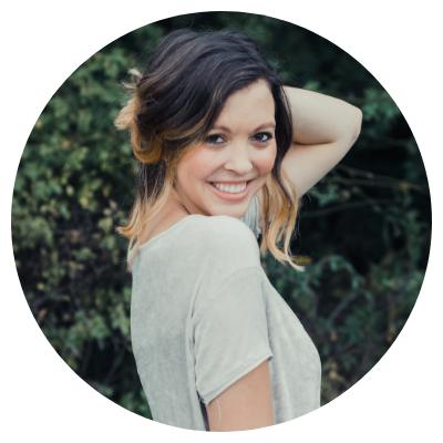 girl posing in greenery, blog intro