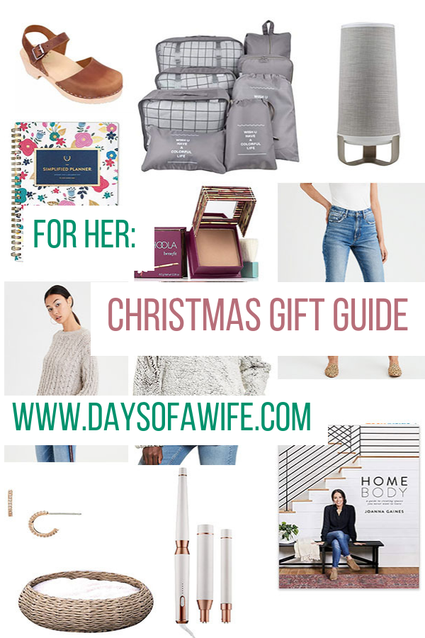 Christmas Gifts 2018 For Her.Women S Christmas Gift Guide 2018 Days Of A Wife